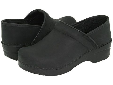 Dansko Professional Oiled Leather Black Oiled Leather - Zappos.com Free Shipping BOTH Ways
