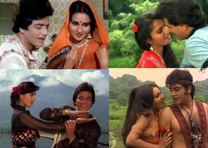 Reena Roy from the movie Jaise Ko Taisa, Nagin and Arpan