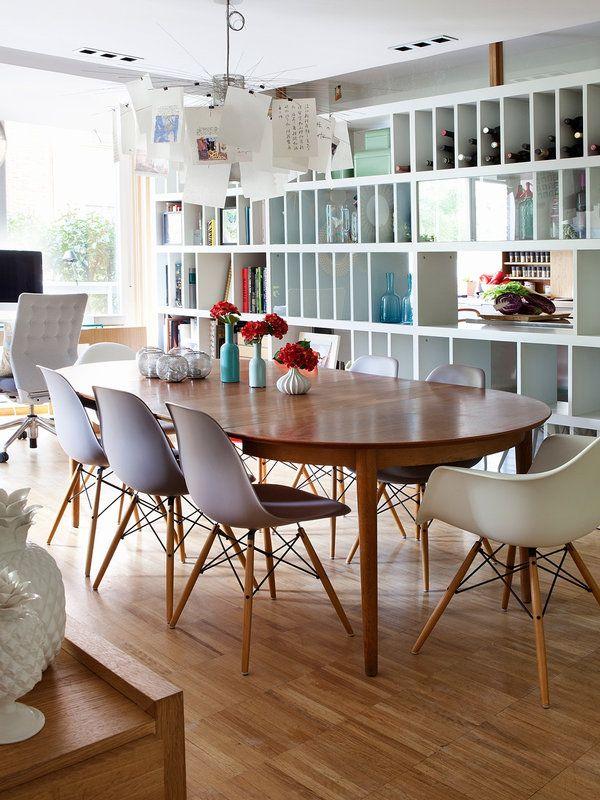 25 melhores ideias de mesas de jantar ovais no pinterest for Decoracion interna