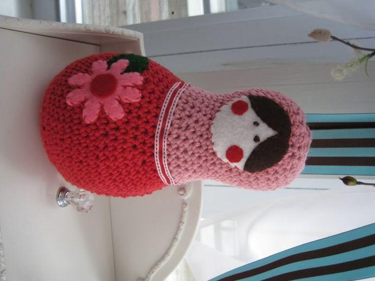 Matroshka Doll ☺ Free Crochet Pattern ☺