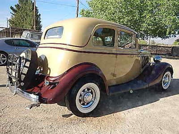 1933 Ford Deluxe Victoria Deluxe 1933 FORD VICTORIA ORIGINAL HENRY FORD STEEL LOTS OF ORIGINAL OPTIONS 1933