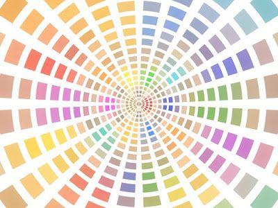 Misha Beauty - přírodní kosmetika a jiné DIY projekty : Míchání barviček pro minerální kosmetiku - barevné kolo