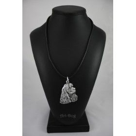 Necklase covered with thin layer of silver