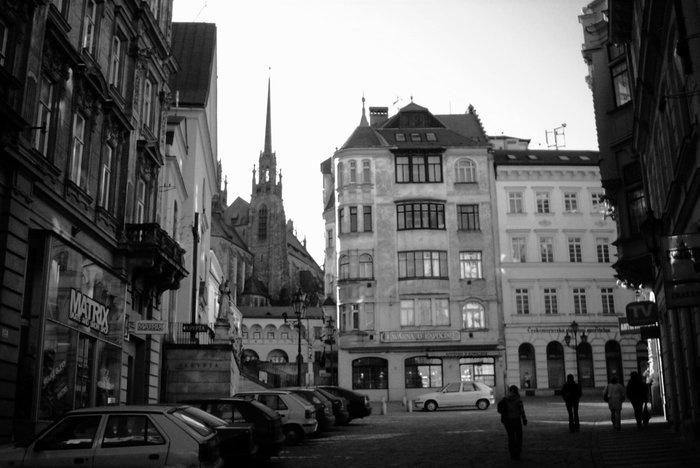 Brno - průhled na Petrov
