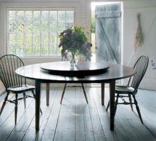 180 best Tables with builtin Lazy Susans images on Pinterest