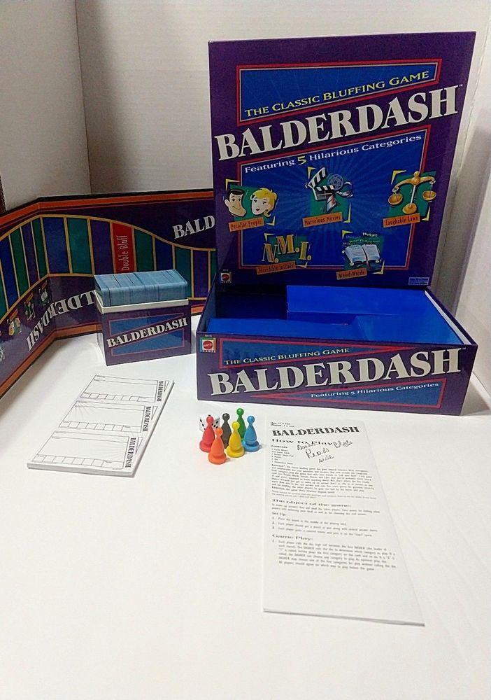 Balderdash 2003 Excellent and Complete!