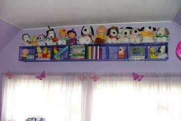 Finished shelf