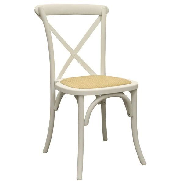 White Crossback Chair Dimensions 16 X 17 3 4 X 35 Crossback Chairs Chair Dining Chairs