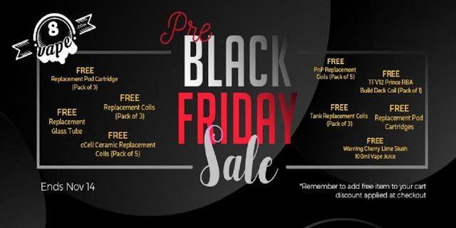 Vapor Joes Daily Vaping Deals Pre Black Friday Sale Great Deals Juice Mods A Pre Black Friday Sales Pre Black Friday Black Friday
