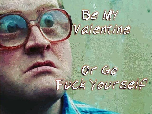 Be Bubbles' Valentine! Or go fuck yourself. # ...