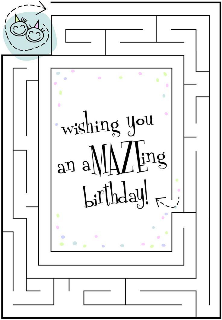 An Amazeing Birthday - Free Printable Birthday Card | Greetings Island