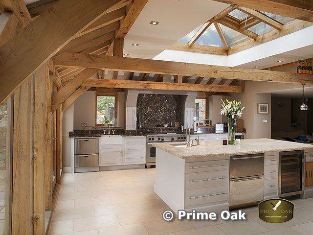 Prime oak buildings ltd quality oak framed orangeries for Wooden garden rooms extensions