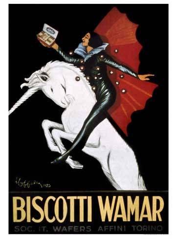 Biscotti Wamar | Vintage food & drink poster | Retro advert #Vintage #Retro #Posters #Affiches #Food #Drinks #Carteles #deFharo #Ads