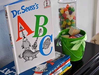 dr. s abc book party 1st birthday.. pretty sure this is it. this may just be the one!!
