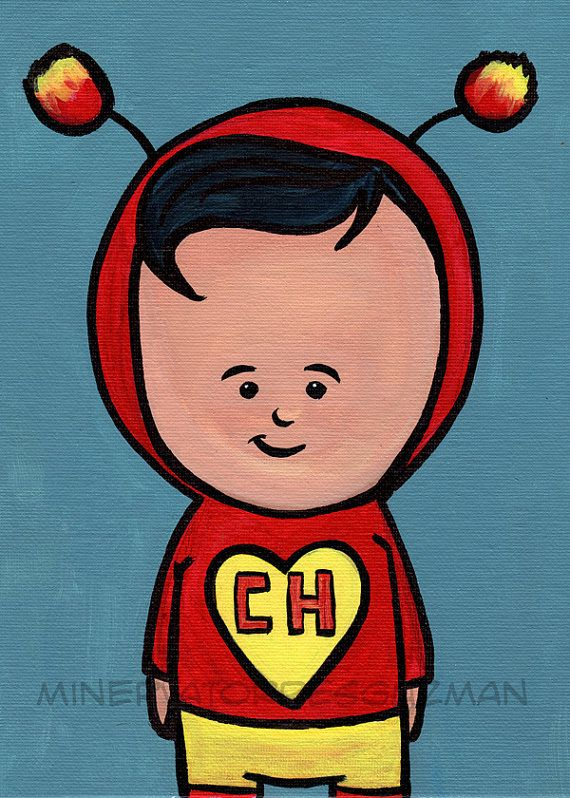 El Chapulin Colorado Mexican Pop Art Print