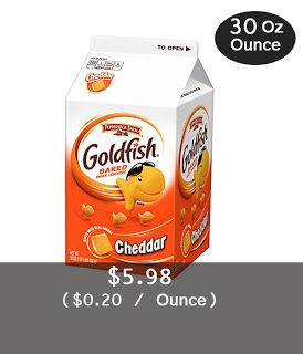 Pepperidge Farm Goldfish Crackers, Cheddar, 30 Oz Carton | Easy Buy