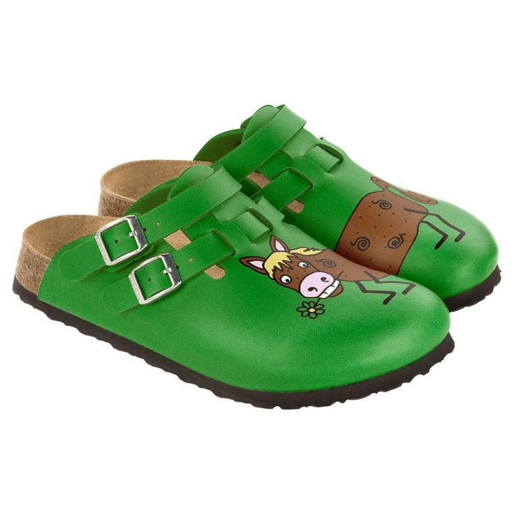 Birki Horse Clogs Super