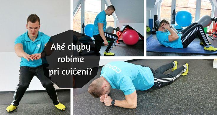 Chyby pri cvičení