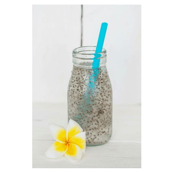 Chia Seeds and Coconut Water