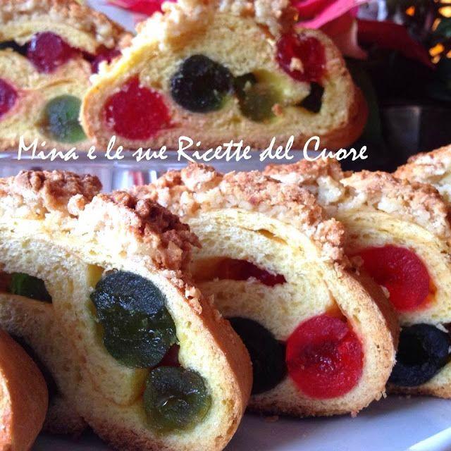 Mina e le sue Ricette del Cuore: Filone Candito  #dolce #desser  http://minaelesuericette.blogspot.it/2014/01/filone-candito.html
