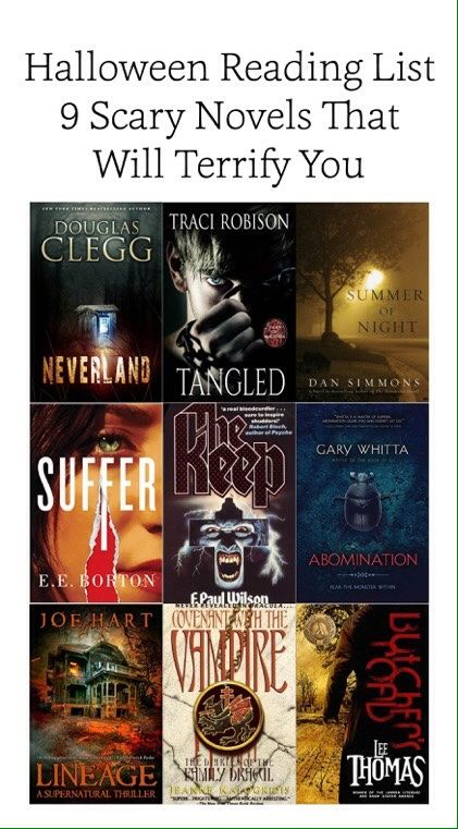 A list of 9 great reads to put a little pleasant shiver down your spine.
