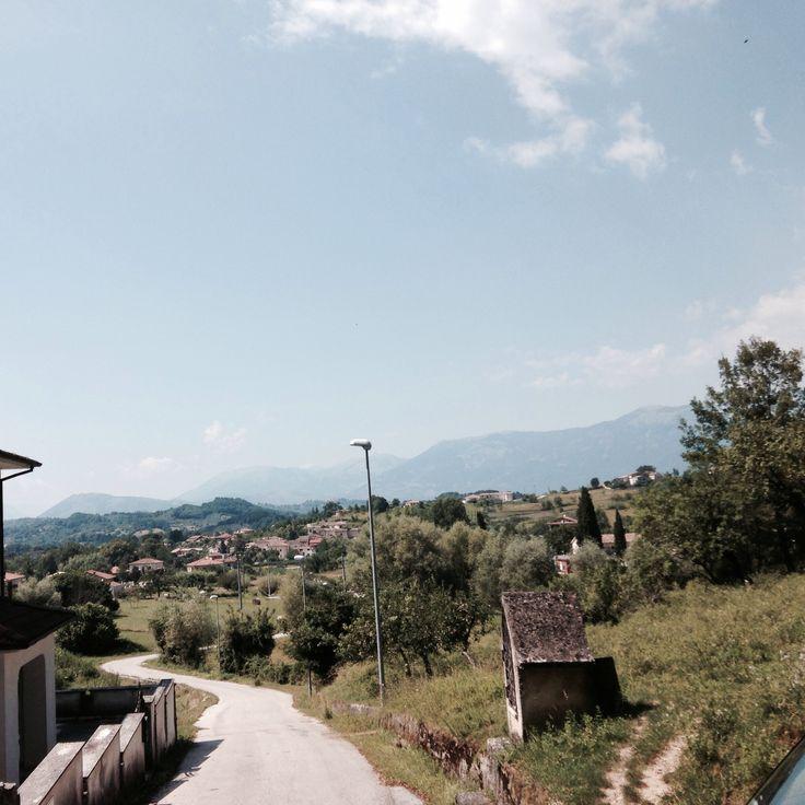 View from Fontana Fredda, Villa Latina