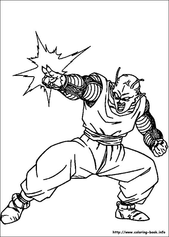 Dragon Ball Z coloring page • Mature Colors