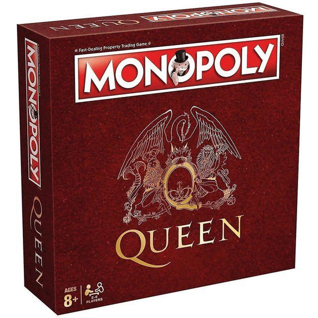 Juego Monopoly Queen Jogos De Tabuleiro Antigos Monopoly I M With The Band