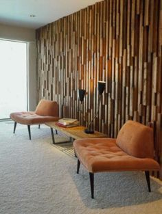 Image result for mid century wood wall