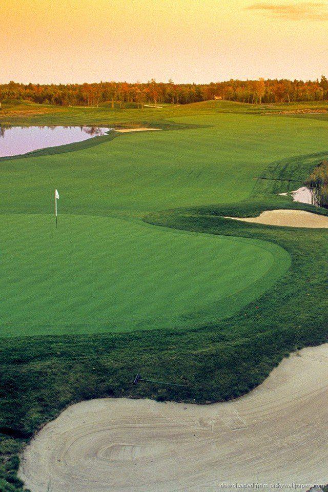 Iphone Golf Wallpaper In 2021 Beautiful Nature Wallpaper Golf Courses Beach Wallpaper