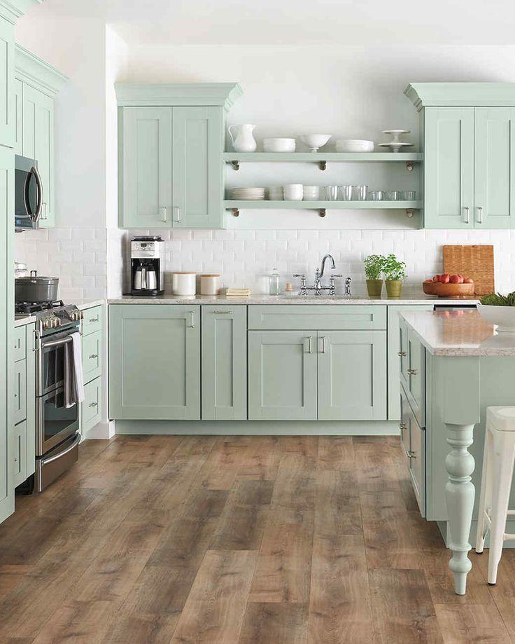 Pistachio color in interior design