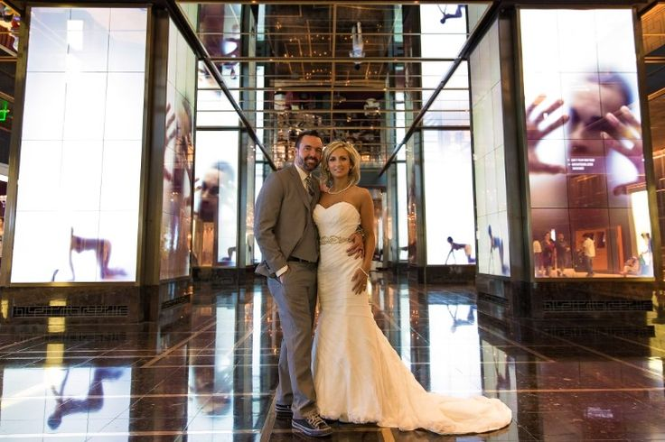 An intimate Las Vegas wedding at The Cosmopolitan - Las Vegas wedding venues small Erik and Alicia Photography