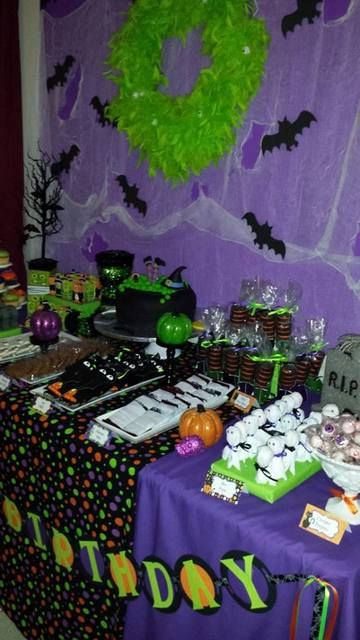 morgans 7th bday - Halloween Themed Birthday Party