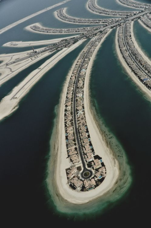 This is Dubai, but I can't help thinking what it really looks like