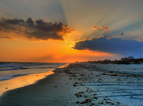 Atlantic Beach At Sunset Outstanding Inspiration For A Week Every Summer Writingplaces