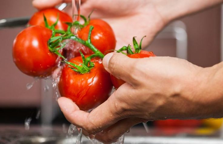 Vegetables contain a lot of essential nutrients. Make sure you wash vegetables before peeling or cutting to preserve the water soluble vitamins!