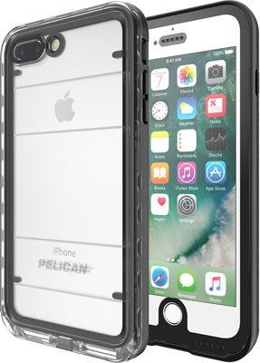 Pelican Marine Case for iPhone 7 Plus, Black/Clear