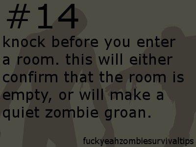 how to prepare for a zombie apocalypse quiz