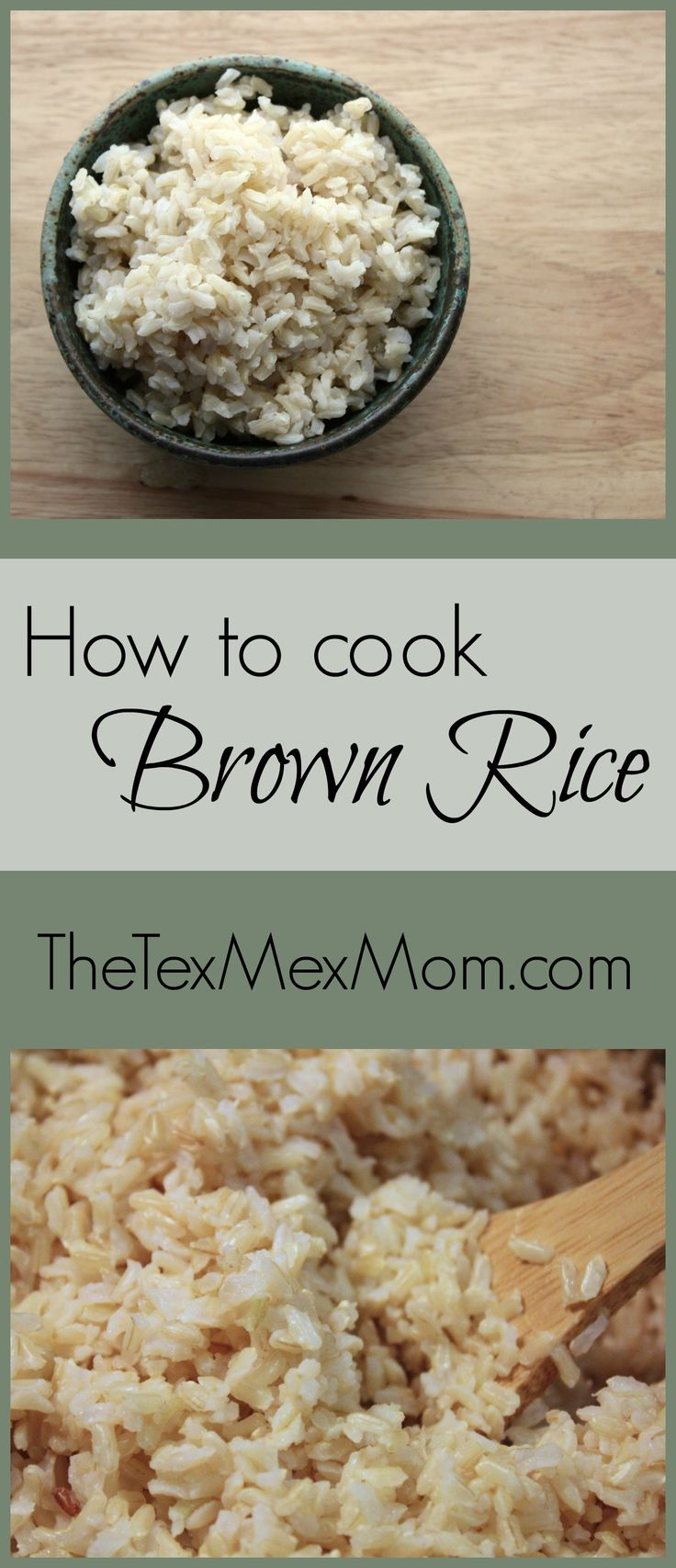 Hello! Today I want to share with you how I cook brown rice. I admit it's not the most exciting recipe ever – after all, you just need rice and water haha – but knowing how to coo…