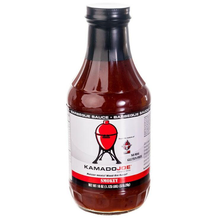 Kamado Joe Smokey BBQ Sauce       A wonderful blend of just the right BBQ flavors to make your mouth water.  No MSG and made with only the best ingredients.