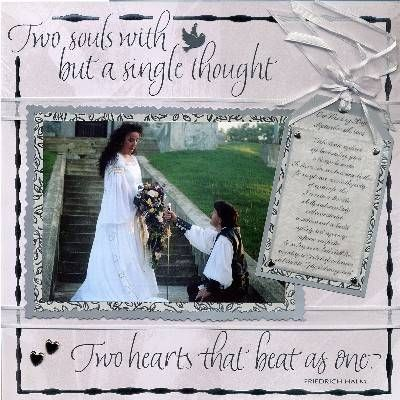 wedding scrapbook ideas   Wedding Scrapbook Pages - Lord Lars and Lady Nilah by Nilah Shea ...