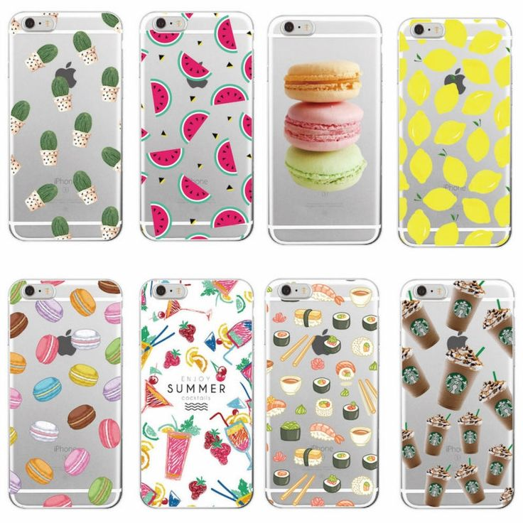 1.81$  Watch now - Food Fruit Coffee Pineapple Lemon Banana Cactus Strawberry Sushi Phone Case fundas For Samsung Galaxy J5 A3 A5 S5 S6 S7 edge   #bestbuy