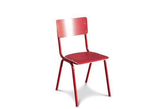 Roter Stuhl Skole ohne jede Grenze