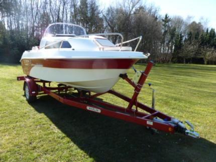 Searider 520 weekend Kajütboot Motorboot Angelboot *NEU* in Schleswig-Holstein - Preetz   Gebrauchte Boote und Bootszubehör   eBay Kleinanzeigen
