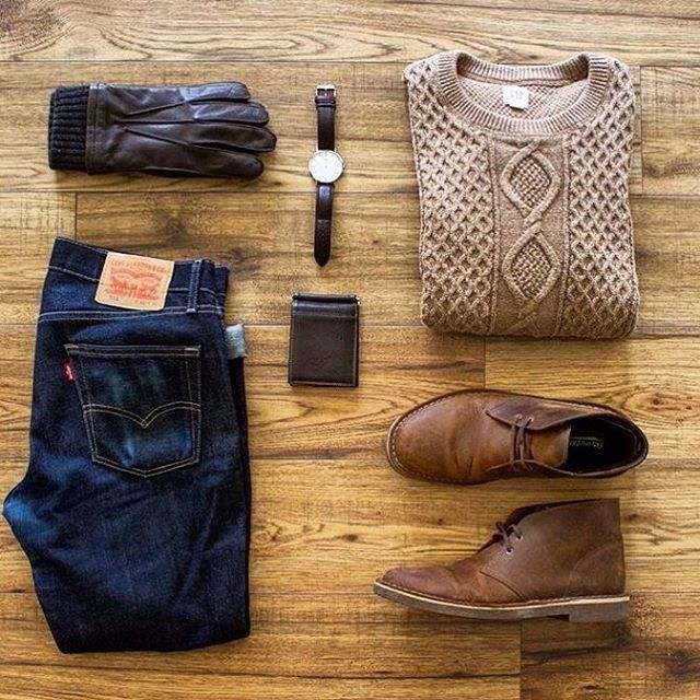 Perfect mix of casual and crisp style. #menswear
