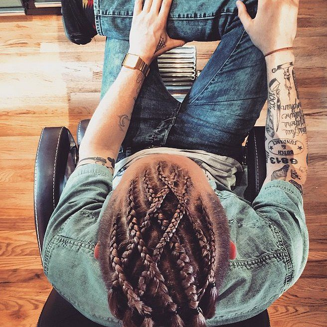 Move Over, Man Buns: Man Braids Are Taking Over Instagram