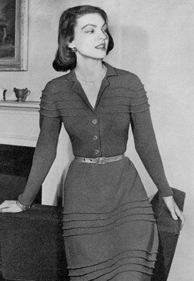 Stamford Skirt & Blouse | Knitting Patterns