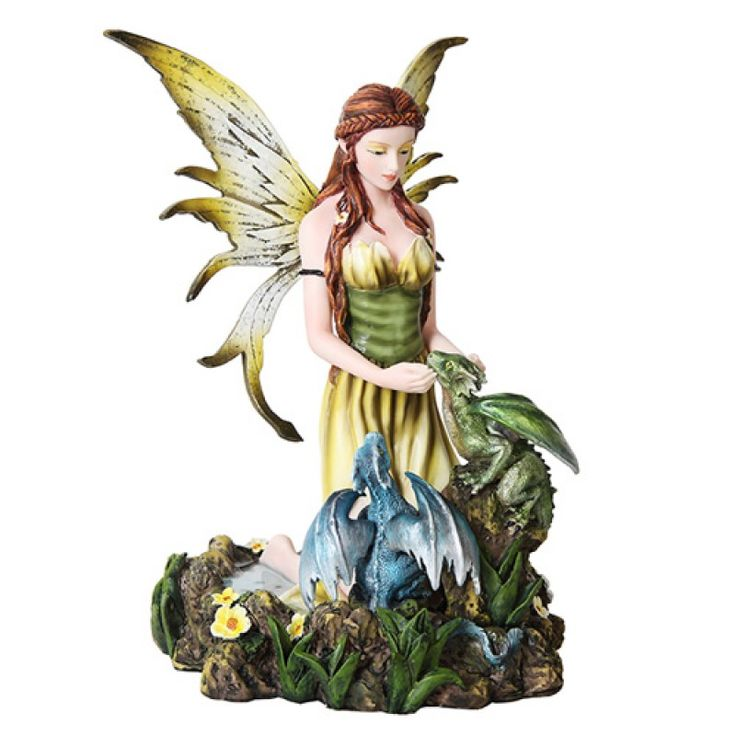 Fairy & Dragonlings Statue