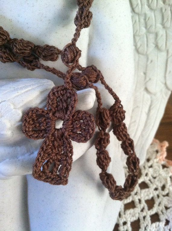 Crocheted Rosary by friendlyhands on Etsy