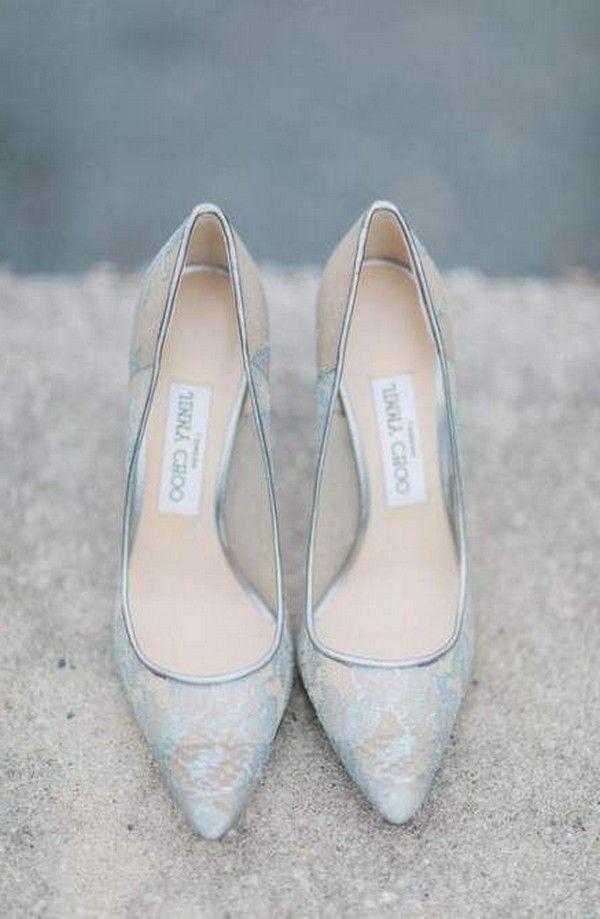 30+ Something Blue Wedding Shoes
